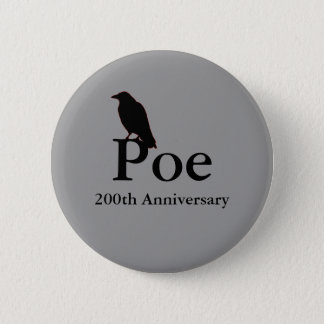 Poe 200th Anniversary Button