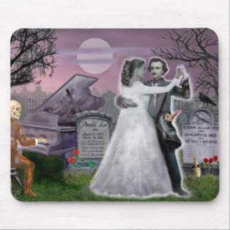 Poe and Annabel Lee Eternally Mouse Pad