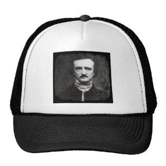 Poe Black and White Grunge Cap