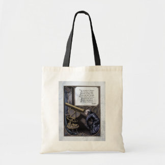 Poe Evening Star Steampunk Victorian Tote Bag