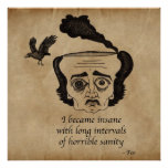 Poe insane poster