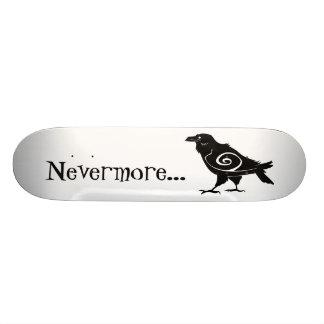 Poe s Nevermore Tribal Raven Custom Skateboard