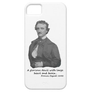 Poe with Frances Osgood Quotation Barely There iPhone 5 Case
