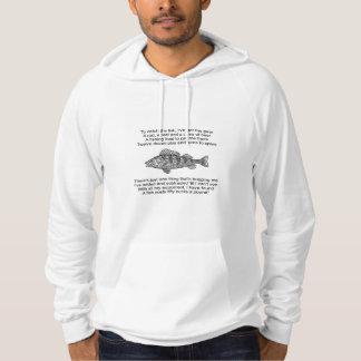 Poem for the Fisherman Hoodie