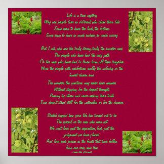 Poem/Lyrics-Poster-by Me Poster