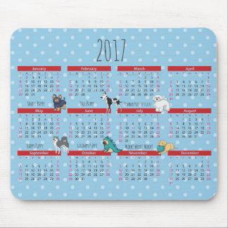 Poem Poem 2017 Calendar Mouse Pad
