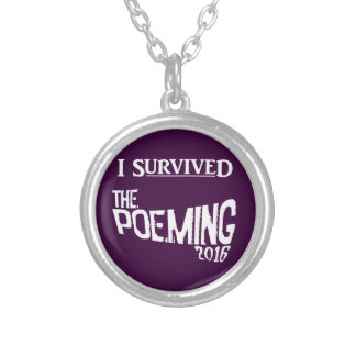 POEMING necklace! Silver Plated Necklace