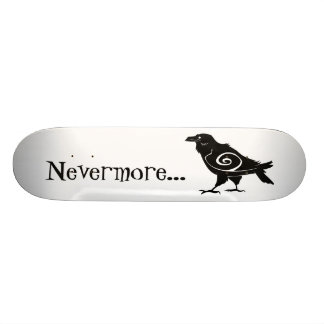 Poe's Nevermore Tribal Raven 20 Cm Skateboard Deck