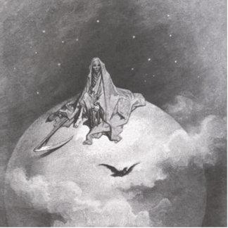 Poe's Raven Dreaming Dreams Print Photo Sculpture Decoration