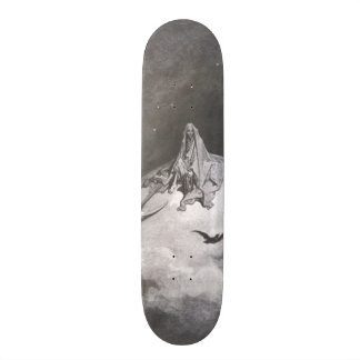 Poe's Raven Dreaming Dreams Print Skateboard Decks