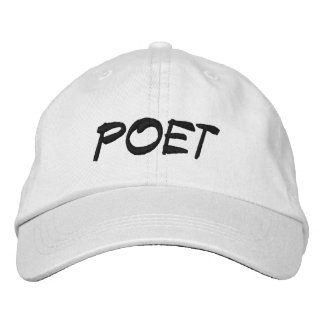 POET EMBROIDERED HAT