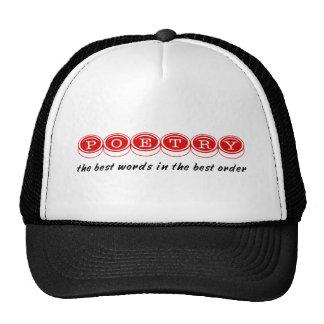 Poet Hat
