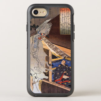 Poet Visited by Helpful Ghost: Vintage Woodblock OtterBox Symmetry iPhone 8/7 Case