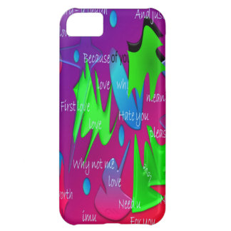 Poetic Writing - Hand Notes iPhone 5C Case