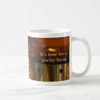 Poetry at Work—Time for a Poetry Break Copper Mug