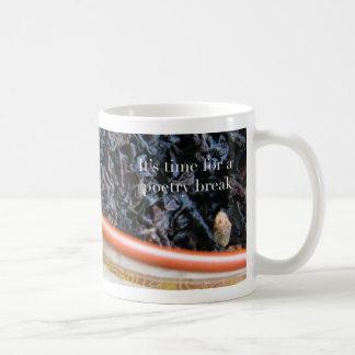 Poetry at Work—Time for a Poetry Break Tea Mug