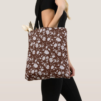 Poetry Garden Flower Tote Bag