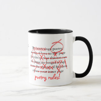 Poetry Group Edit Me Mug