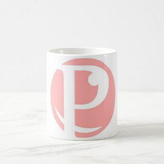 Poetry Lobby Pink Coffee mug coffee