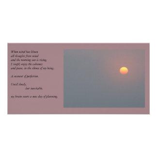 Poetry - Rising Sun Photo Card