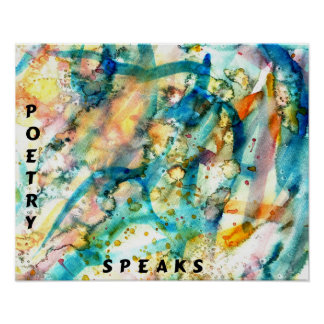 POETRY SPEAKS Poster