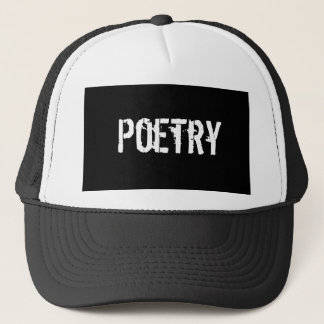 Poetry Trucker Hat