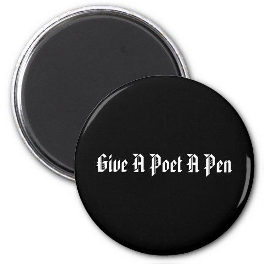 Poet's Pen Magnet