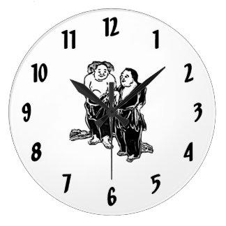 Poets Wall Clock