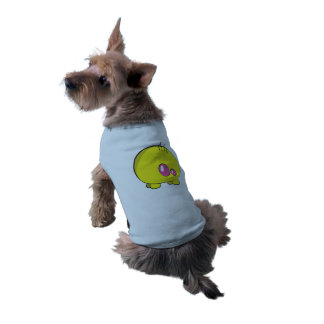 Pogo O.o Custom Yellow Doggie Ribbed Tank Top Sleeveless Dog Shirt