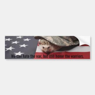 Pog's Honor Bumper Sticker