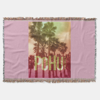 PoHuLocal-Pretty In Pink Snuggle Throw Blanket