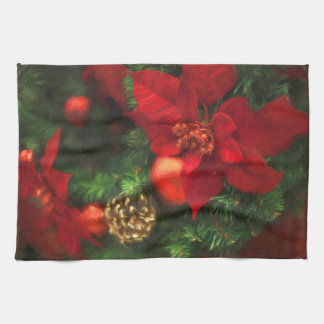 Poinsettia Beauty Kitchen Towel