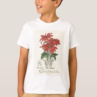Poinsettia Christmas Plant T-Shirt