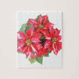 Poinsettia Christmas Star transparent PNG Jigsaw Puzzle