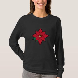 Poinsettia Holiday T-Shirt