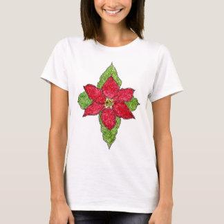Poinsettia Psalm 148 Shirt