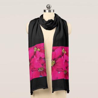 Poinsettia scarf