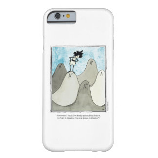 POINT A cartoon by Ellen Elliott Barely There iPhone 6 Case