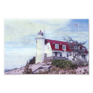Point Betsie Lighthouse Photograpic Print