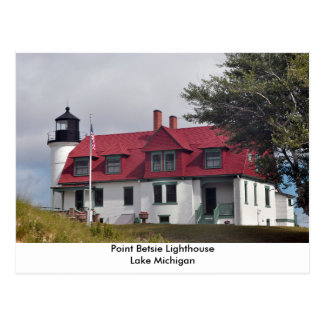 Point Betsie Lighthouse Postcard
