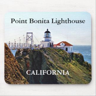 Point Bonita Lighthouse, California Mousepad