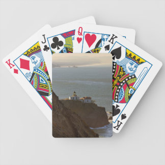 Point Bonita Lighthouse in San Francisco CA Bicycle Playing Cards