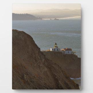 Point Bonita Lighthouse in San Francisco CA Plaque