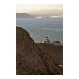 Point Bonita Lighthouse in San Francisco CA Stationery