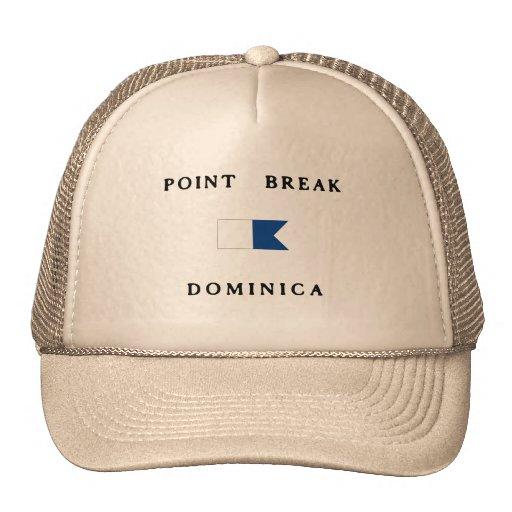 Point Break Dominica Alpha Dive Flag Hat
