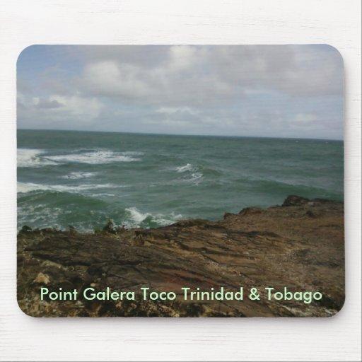 Point Galera Toco Trinidad & Tobago Mouse Pads