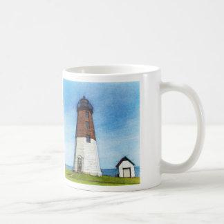 Point Judith lighthouse mug