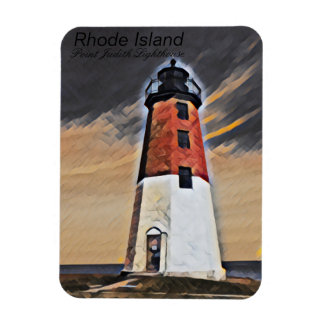 Point Judith Lighthouse  Rhode island Magnet