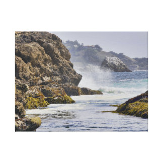 Point Lobos Coastal Scenic View Gallery Wrapped Canvas