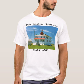 Point Lookout Lighthouse, Maryland T-Shirt